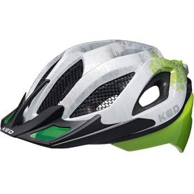 KED Spiri Two Pyöräilykypärä , vihreä/valkoinen